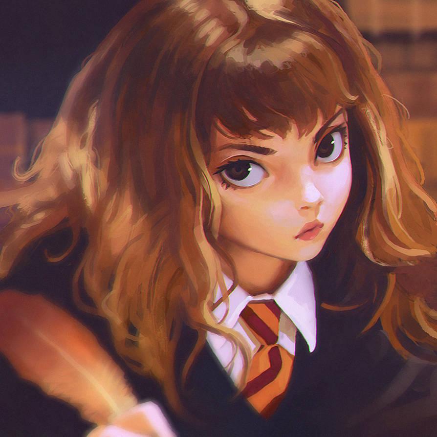 First Year Hermione by Kuvshinov-Ilya