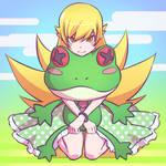 Shinobu and Frog