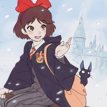 Kiki and the First Snow by Kuvshinov-Ilya