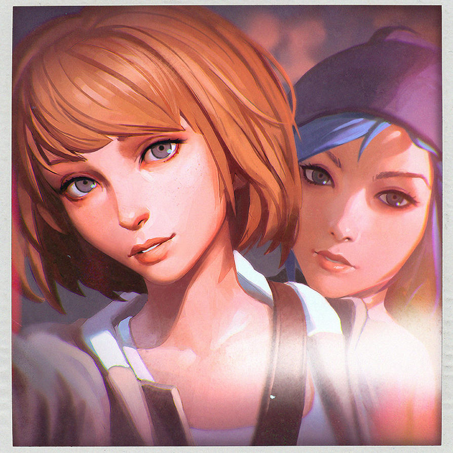 Max and Chloe Selfie by Kuvshinov-Ilya