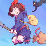Kiki in Little Witch Academia