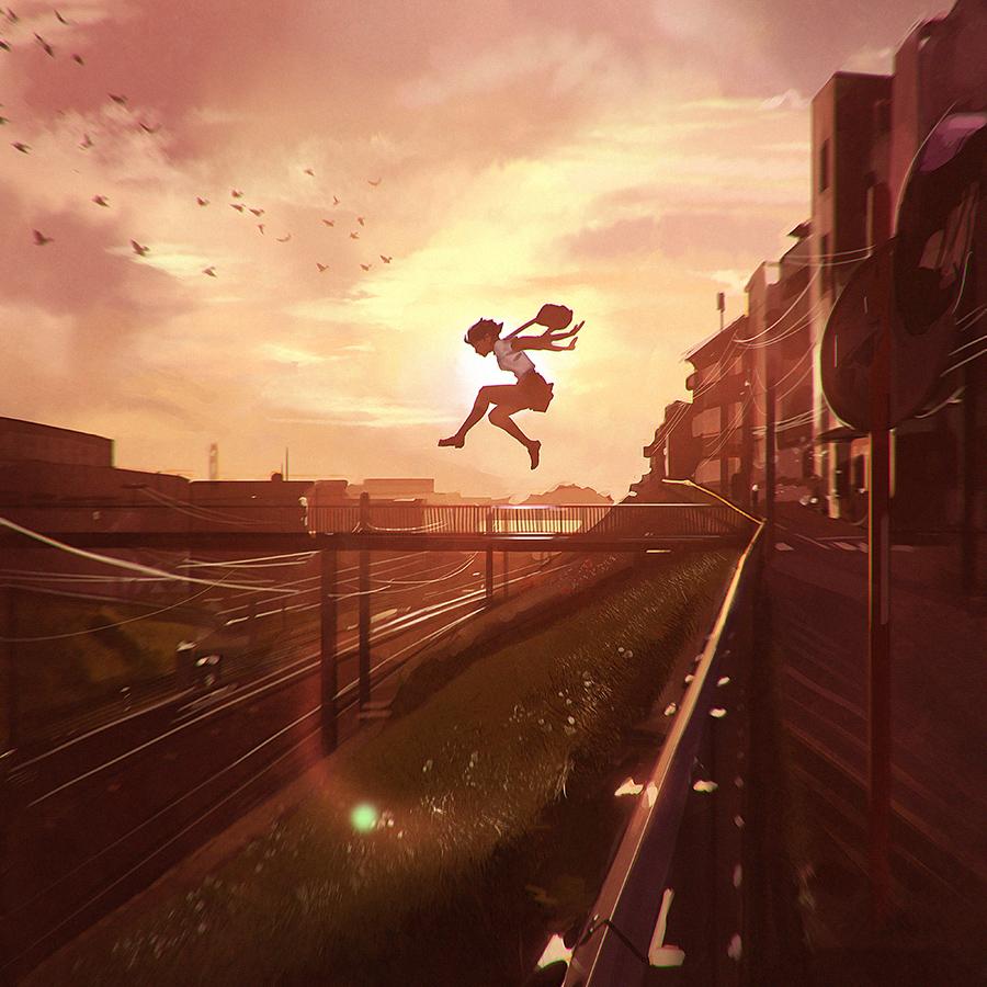 Leap by Kuvshinov-Ilya