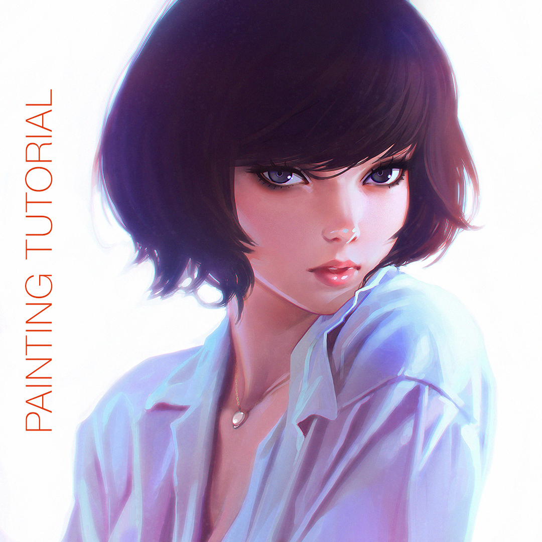 Painting Tutorial Video by Kuvshinov-Ilya