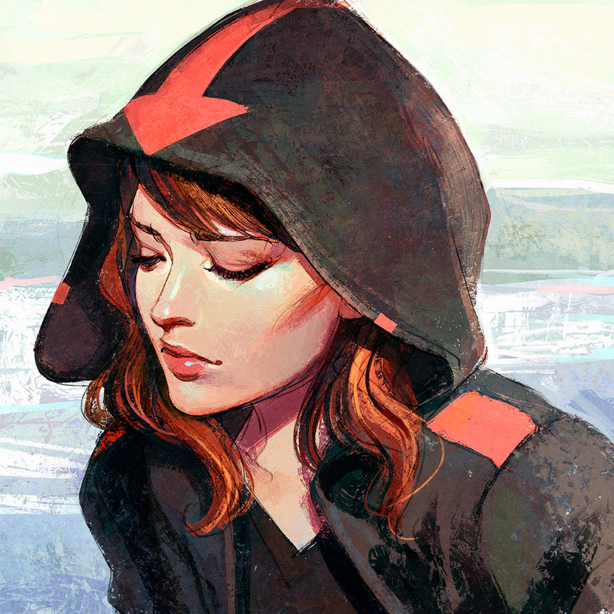 Women in hoods paintings are not