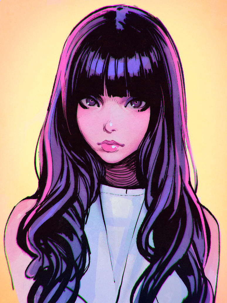 Inks by Kuvshinov-Ilya