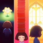 Undertale Triptych