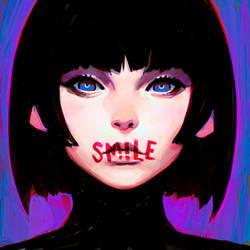 Smile by Kuvshinov-Ilya