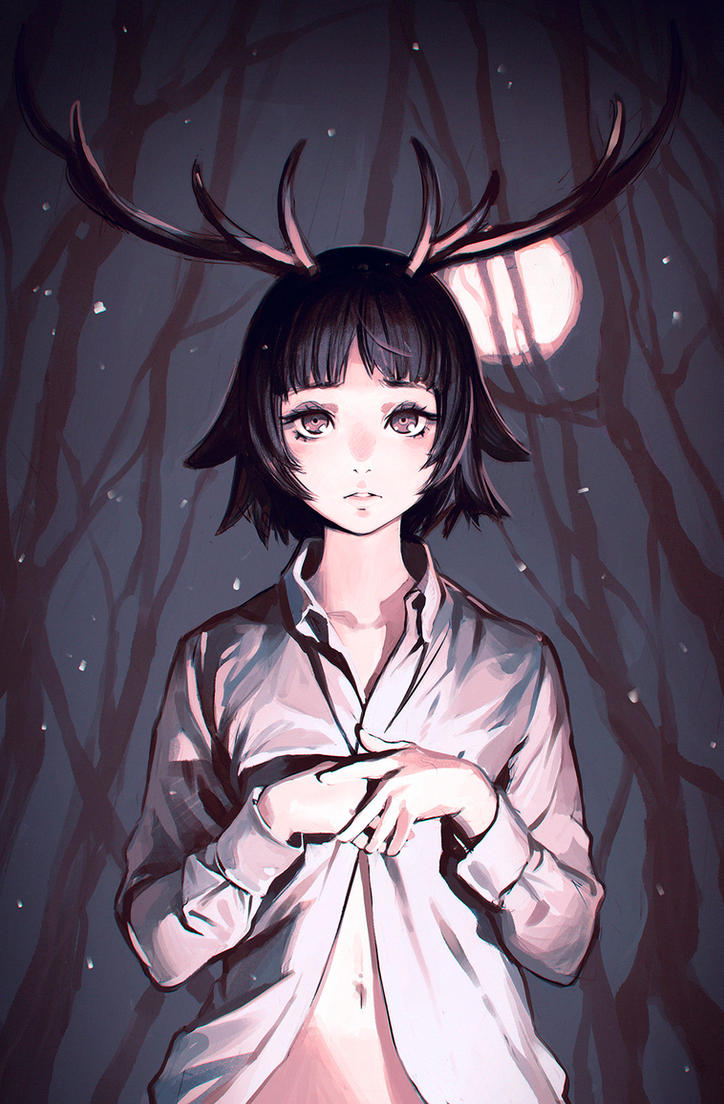Antlers by Kuvshinov-Ilya