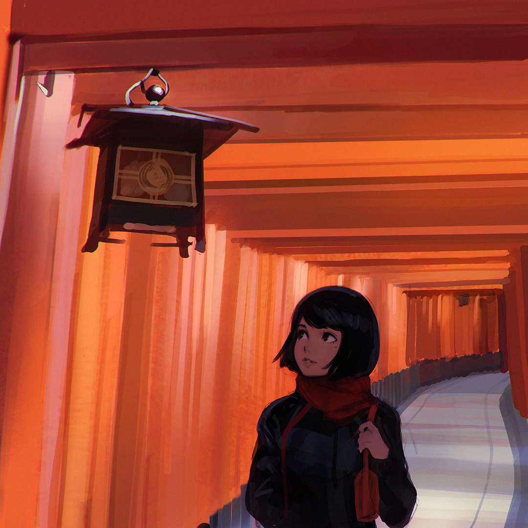 I Apologize In Advance For The Instagram Filters But Here: Torii By Kuvshinov-Ilya On DeviantArt