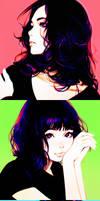 R G B Triptych