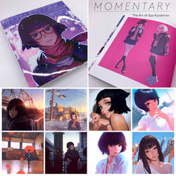 MOMENTARY Kuvshinov Ilya Original Art Collection by Kuvshinov-Ilya