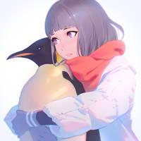 Emperor Penguin by Kuvshinov-Ilya