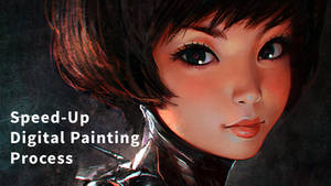Speed-Up Digital Painting Process Video