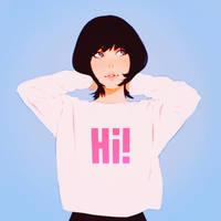 hi! by Kuvshinov-Ilya
