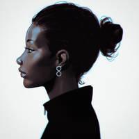 earring by Kuvshinov-Ilya