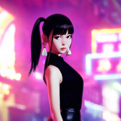 Uesaka Sumire Album Cover Illustration