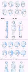 Birthday Wonderland Character Designs by Kuvshinov-Ilya
