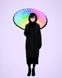 rainbow by Kuvshinov-Ilya