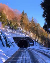 a tunnel by Kuvshinov-Ilya