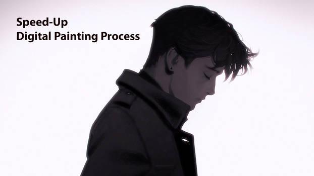Speed-Up Digital Painting Process