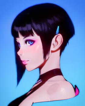 Cyber Hunter's Zero fan art