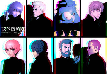 GitS Character Visuals