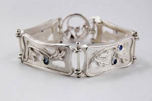 Art Nouveau Inspired Bracelet by WearableByDesign