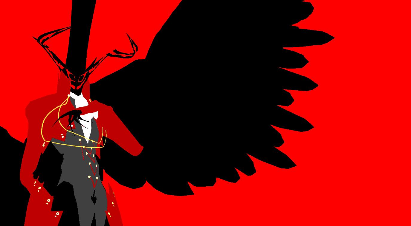 Persona 5 Arsane Minimalist Wallpaper By Midian P On Deviantart