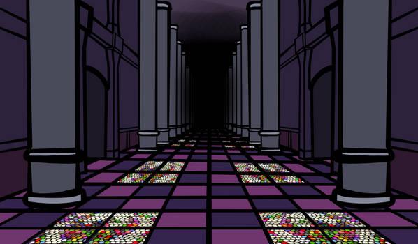 Walfas Custom: Palace of Earth Spirit Hallway by Midian-P