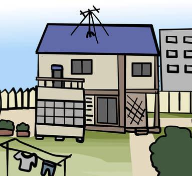 Walfas Custom Background: Mackenzie residence by Midian-P