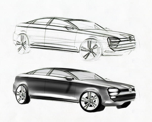 VW sketch by MentosDesign
