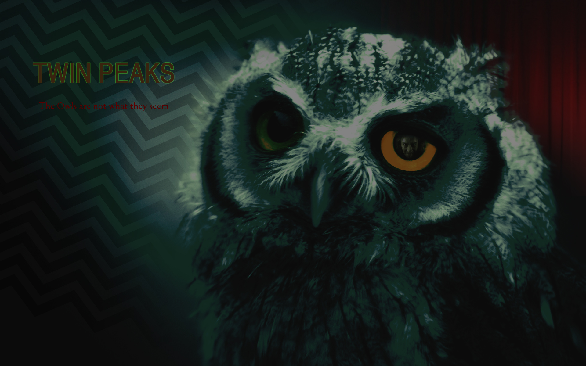 Twin Peaks - Fan Wallpaper. by MVestala