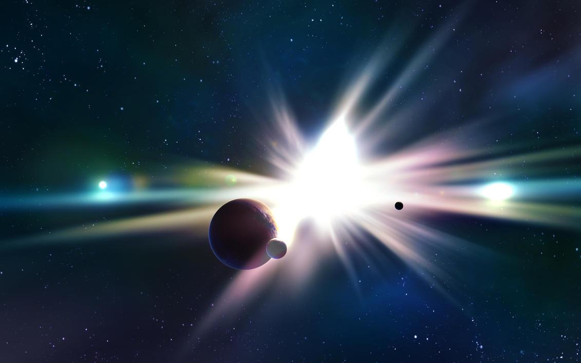 Celestial Dawn - Wallpaper by MVestala
