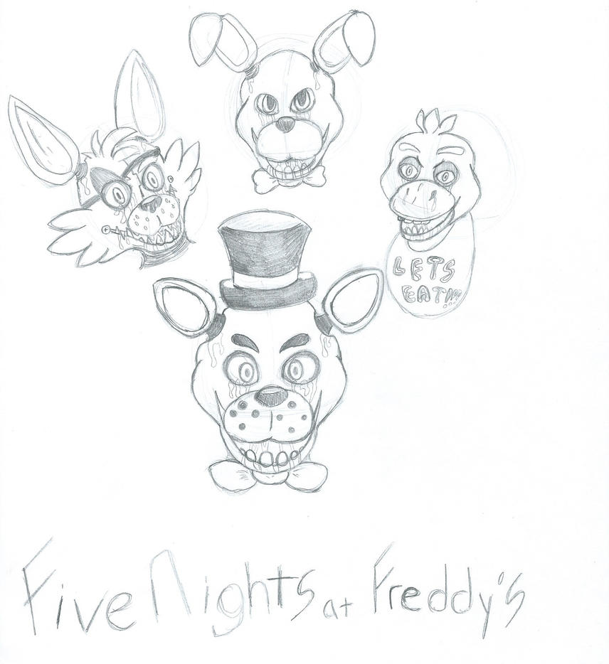 Five Nights at Freddy's by sonicwerehoglover124