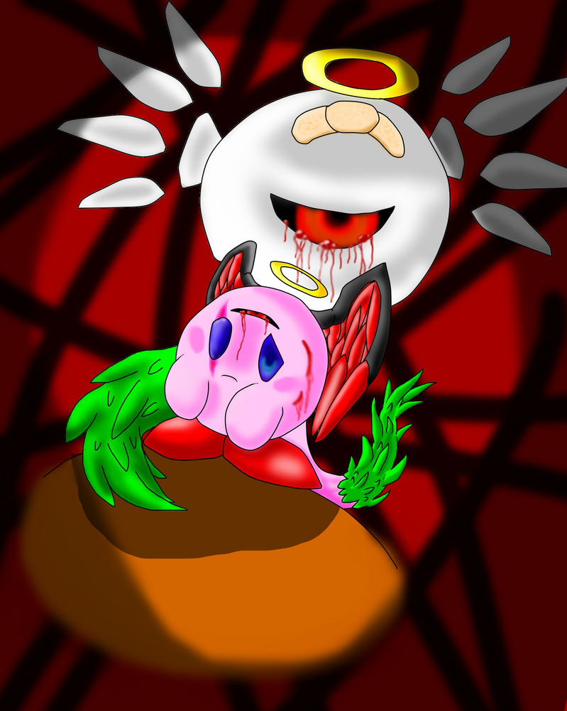 Zero Two Kirby by sonicwerehoglover124
