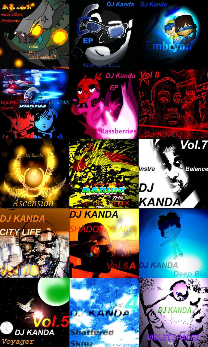 DJ Kanda Album Covers by Solo-W