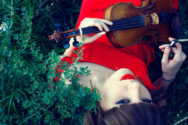 Violin 7 by Emmatyan