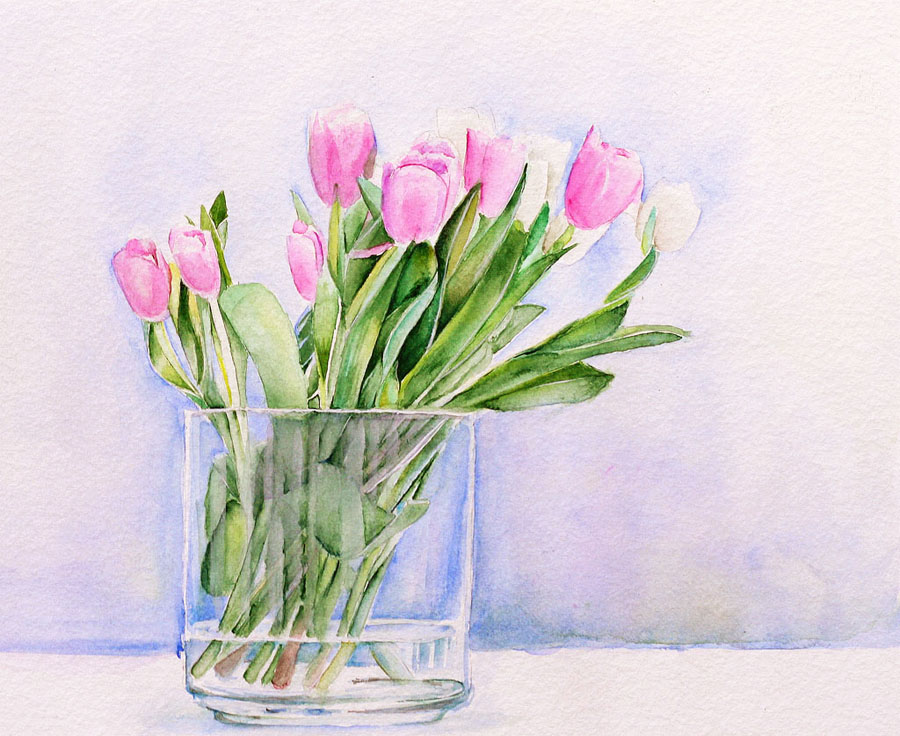 Tulips by Emmatyan