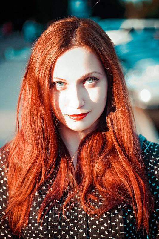 redhead by Emmatyan