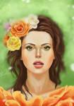 lady of spring by Lightam