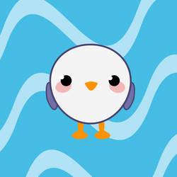 Little seagull by zapolzun