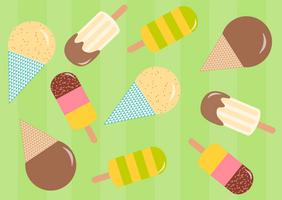 Vector ice-cream by zapolzun