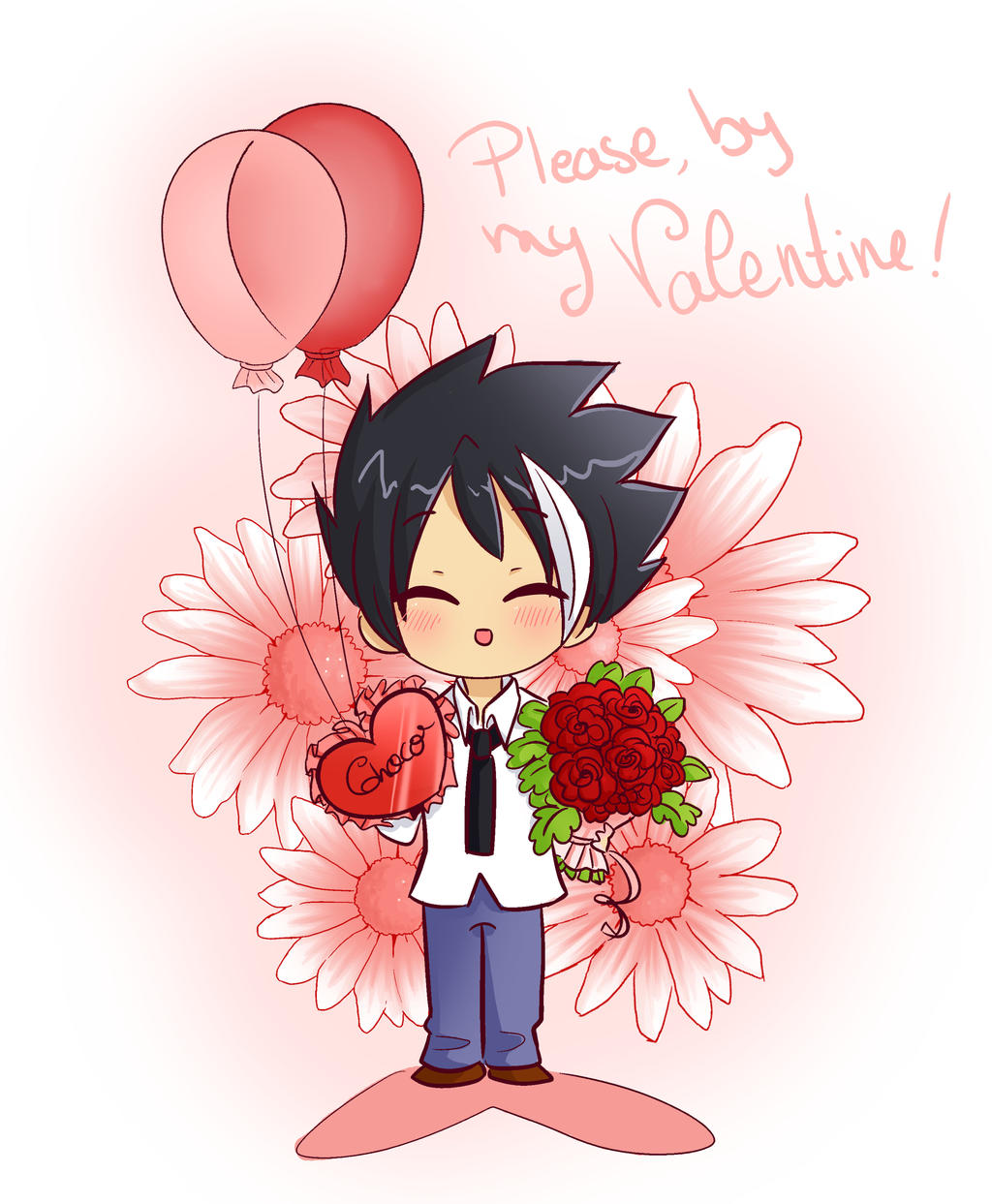 Please, be my Valentine ! by ChibiStarProductions