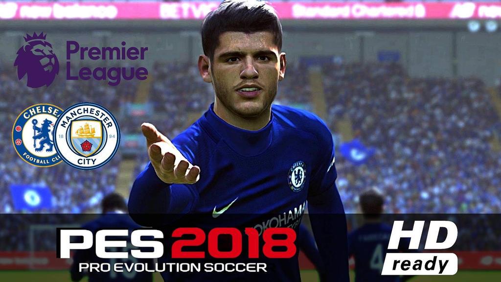 Chelsea Vs Manchester City 2017: PES 2018 CHELSEA Vs MANCHESTER CITY By Eni3 On DeviantArt