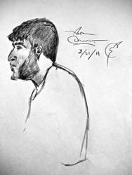 Sideburns in Profile by son-of-mayhem