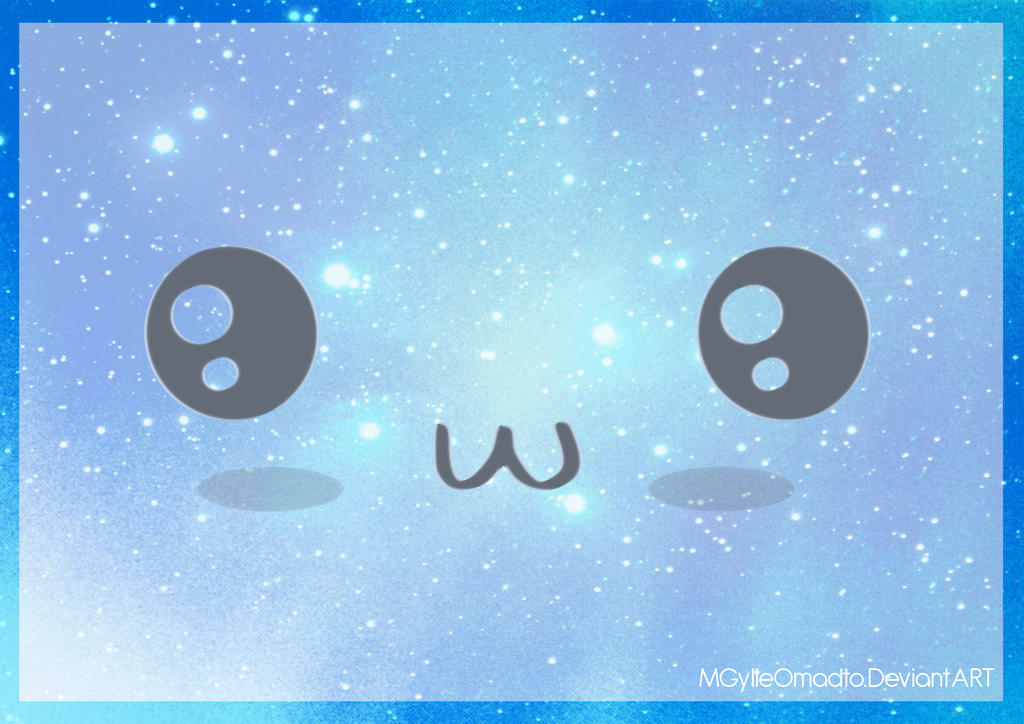 Kawaii Face Blue By MGylleOmadto