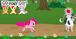 mlp racing is magic by inuyashatheevee on deviantart