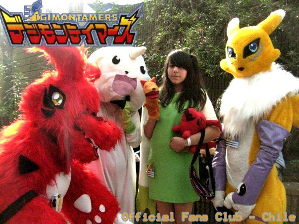 Digimon Fans Club Cosplay by kyrichan