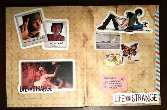 Life Is Strange Artbook /Max journal inside out