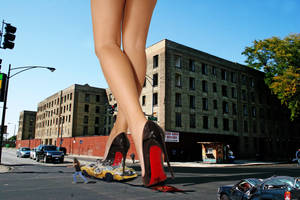 Giant Killer Heels by Amarie-Tinuviel